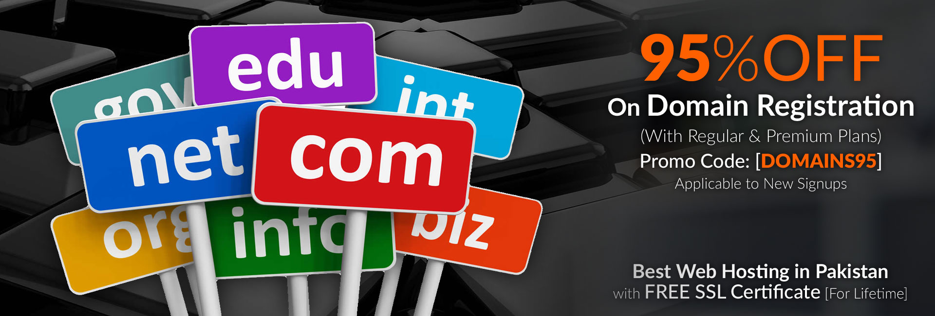 95-Percent-OFF-on-Domain-Registration-with-Best-Web-Hosting-in-Pakistan