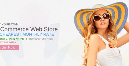 Get your own Online Shop (e-Commerce Store) @ Rs.1000/- Per Month only [Limited Time Offer]. Your own .com domain with products, ordering and inventory system. Visit Demo Site www.fashiomart.com