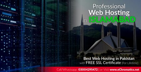 Professional Web Hosting in Islamabad Pakistan