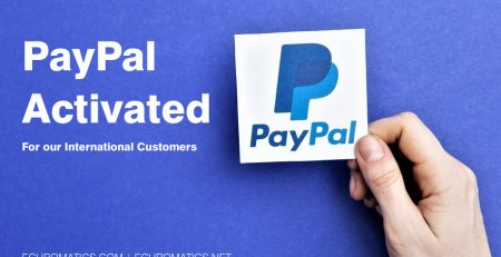 PayPal Payments Activated for our International Customers